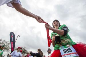The 12ks of Christmas at Freestone Park in Gilbert on Saturday, Dec. 13, 2014.