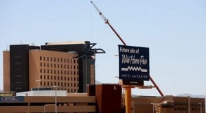 Big hotel and casino project rising fast