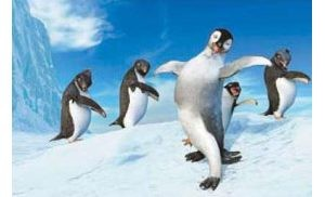 'Happy Feet' tap-dances its way to environmental message