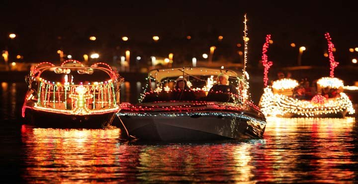 Fantasy of Lights Boat Parade