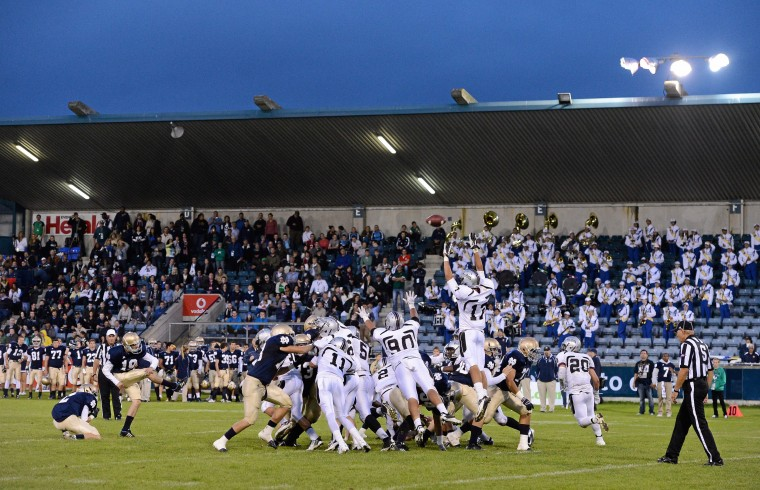 Notre Dame High School v Hamilton High School - Global Ireland Football Tournament 2012