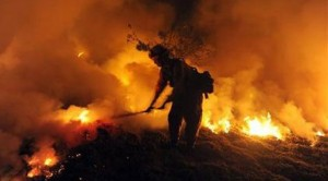 More than 30K told to flee Santa Barbara fire