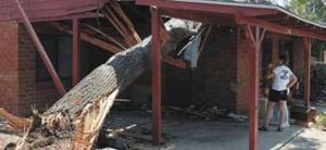 Rain, wind ravage East Valley neighborhoods