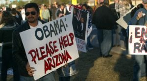 Obama lays out plan amid hundreds at Dobson