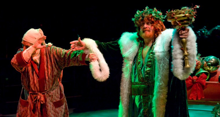 Dorman Smith (Scrooge), Joe Nuttall (Christmas Present)