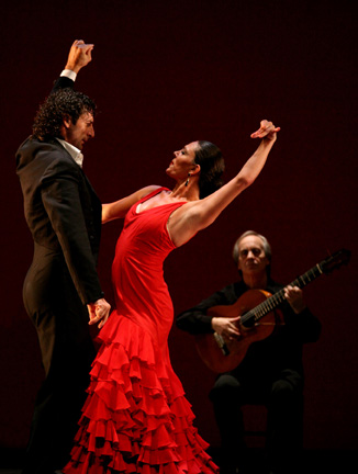 Paco Pena with Dancers