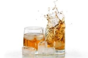 Whiskey on ice