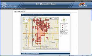 DPS Sex Offender Map