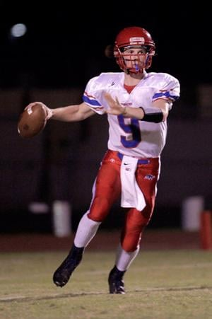 Mountain View QB John Clark
