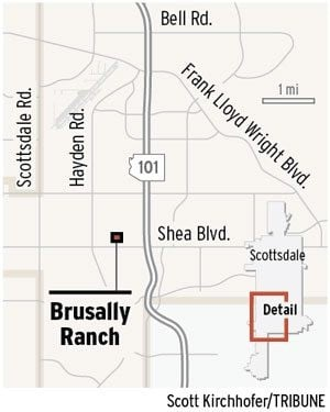 Scottsdale to consider dividing Brusally Ranch