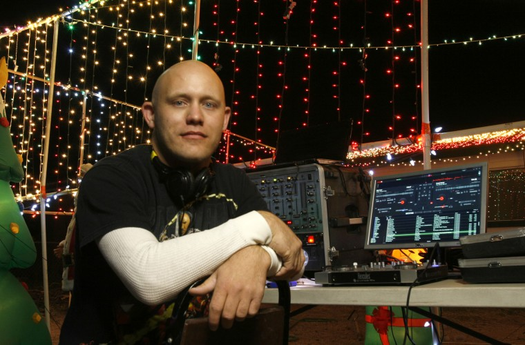 Christmas Light DJ