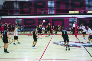 Highland boys volleyball