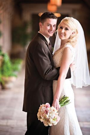Camille Leigh Gates and David Michael Estes wedding
