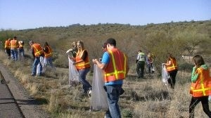 Annual trash cleanup honors slain DPS officer