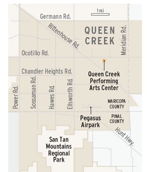 Queen Creek map