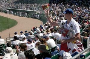 Mesa pays off Cubs' Hohokam Stadium