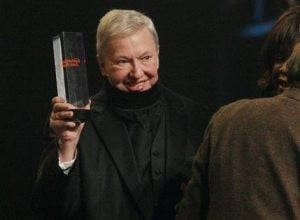 Roger Ebert honored at Gotham Awards