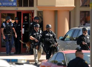 Mesa school lockdown over; 2 men arrested
