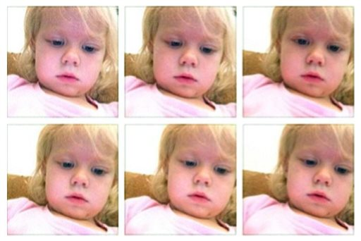 Toddler Selfies