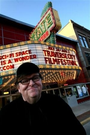 Michael Moore plans Traverse City comedy festival