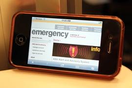 Emergency alert system at Arizona universities