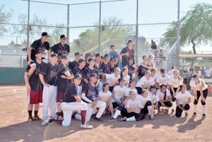 Charity softball game