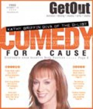 Comedian Kathy Griffin stands up for charity