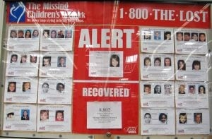 Missing children: Gone, but not forgotten
