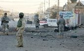 10 Marines killed in bombing near Fallujah 