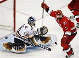 Carolina edges Oilers to win Stanley Cup