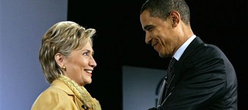Clinton says she's open to being Obama's VP 