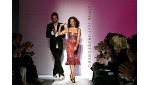 Metallics shine at New York Fashion Week