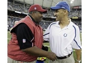 Colts top Cardinals in Dungy's return