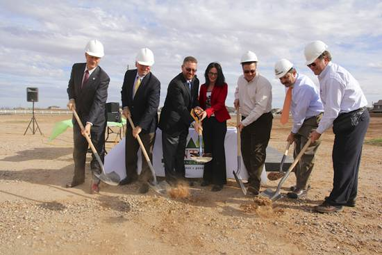 San Tan Charter School groundbreaking