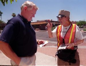 Scottsdale's sidewalk solicitor behind bars