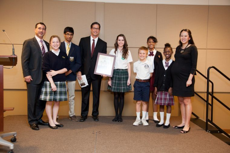 Mesa's Great Hearts Academy honored