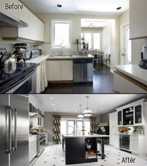 Kitchen gets a Hollywood redo