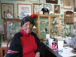 Fran McClendon, owner of The Glass Urn
