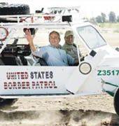 Bush takes his case to Arizona