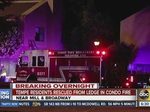 Tempe fire condo rescue