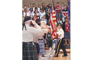 Patriotic mood rises in many E.V. schools