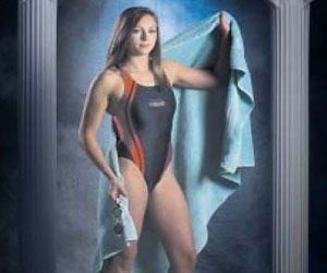 Tribune girls swimmer of the year and All-Tribune team