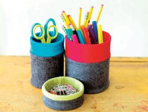Crafts covered containers