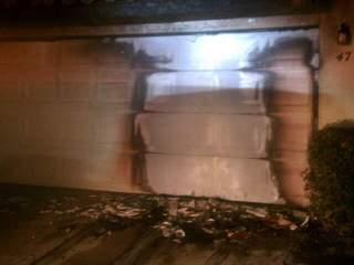Mesa car fire