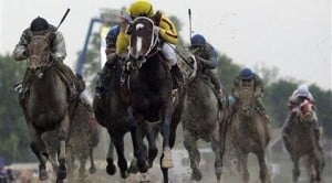 Filly Rachel Alexandra wins Preakness by 1 length