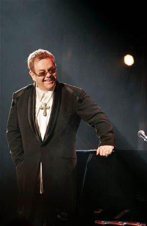No empty Garden for Elton John, now 60
