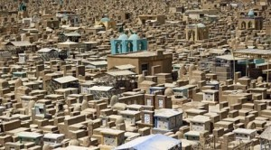 Iraqi searches for brothers in mass cemetery
