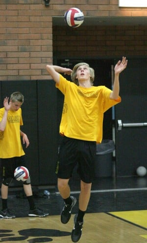Gilbert Boys Volleyball