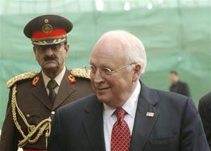 Bomb within earshot of Cheney kills 23
