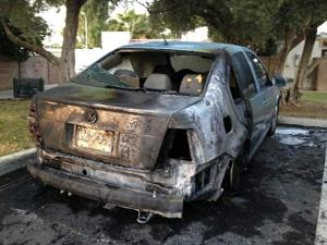 Several cars set on fire in Mesa overnight
